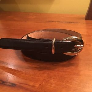 Soft leather Talbots black belt